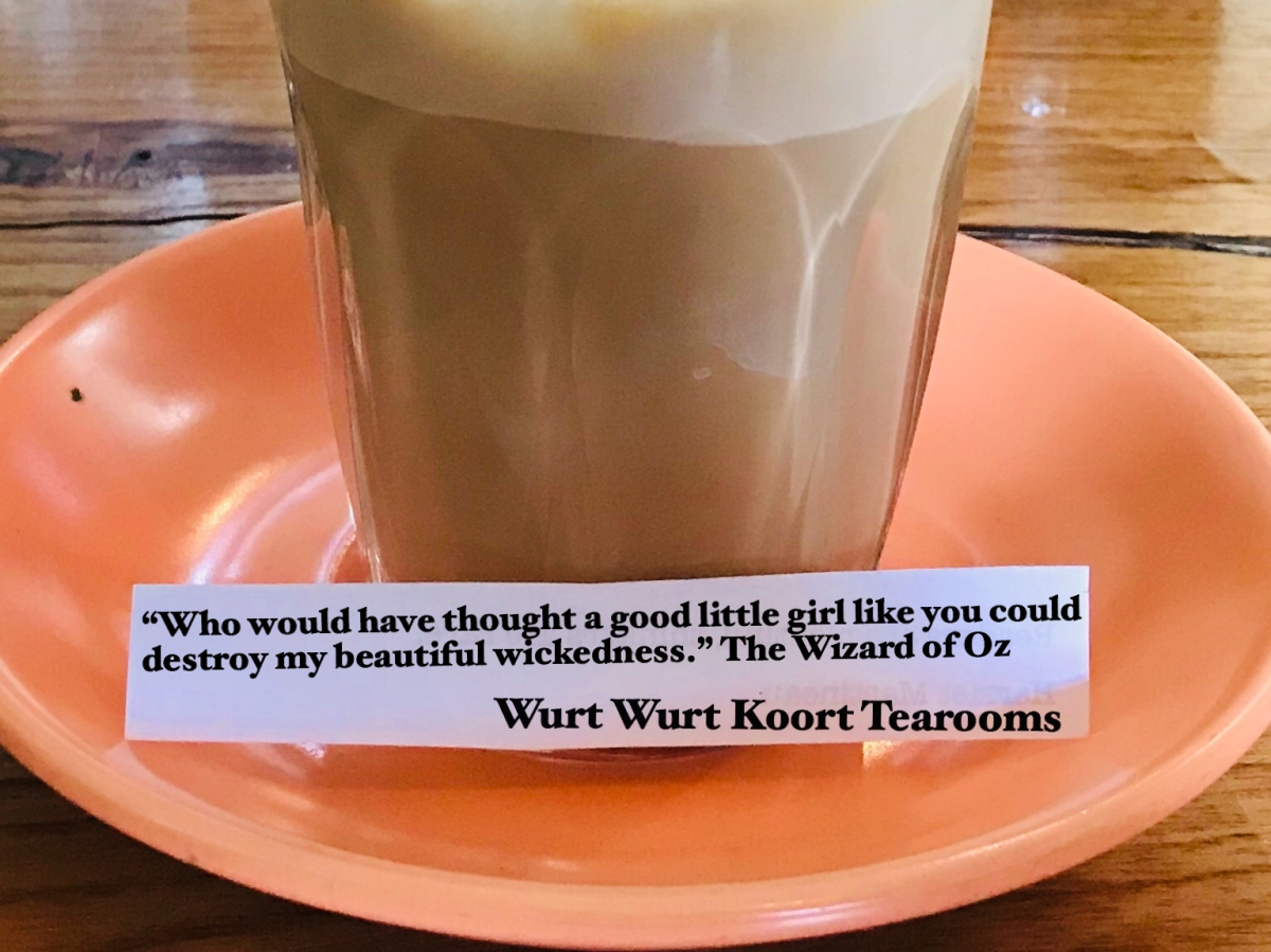 Faith: Wurt Wurt Koort Tearooms